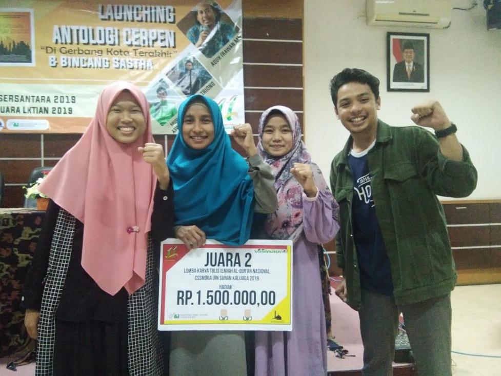 Aceh Isyatul, Mahasiswi IAIN Langsa Juara II LKTIA Nasional