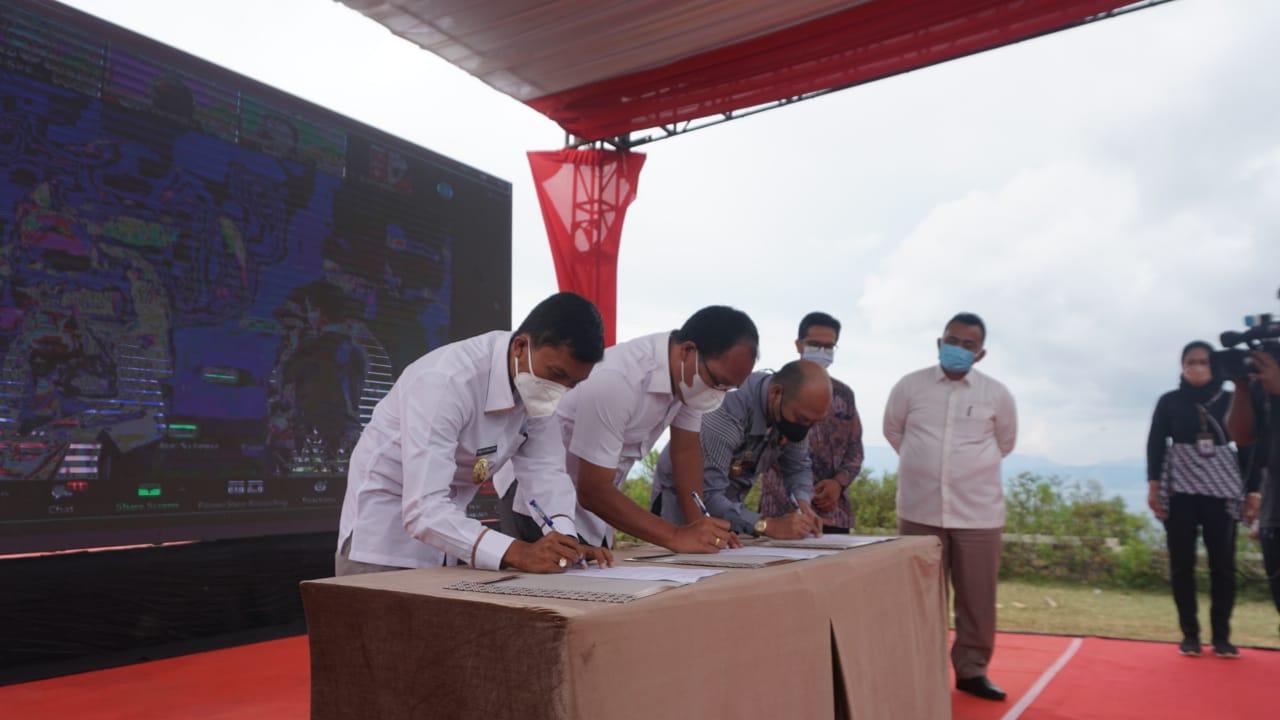 Bangun Sanitasi di 10 Desa Wisata Danau Toba, Pertamina Diapresiasi Para Menteri