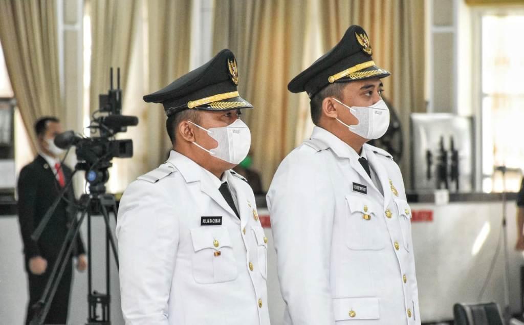 Bobby Nasution dan Aulia Rahman Resmi Jadi Jadi Walikota dan Wakil Walikota Medan