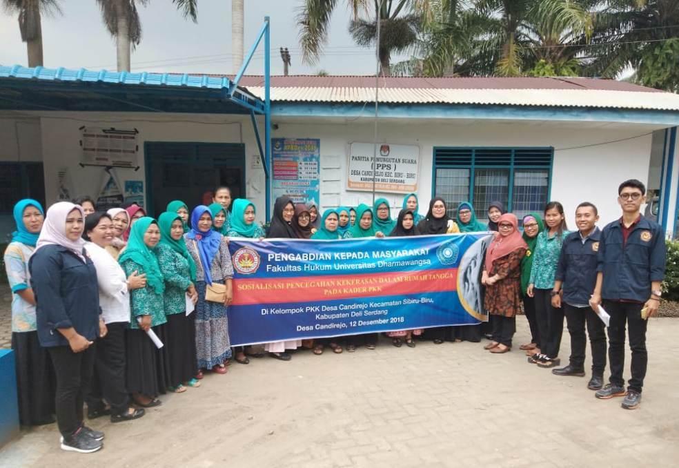 Cegah KDRT, FH Universitas Dharmawangsa Sosialisasi Di Tingkat Desa