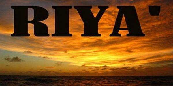 Ciri Orang yang Terjangkit Sifat Riya