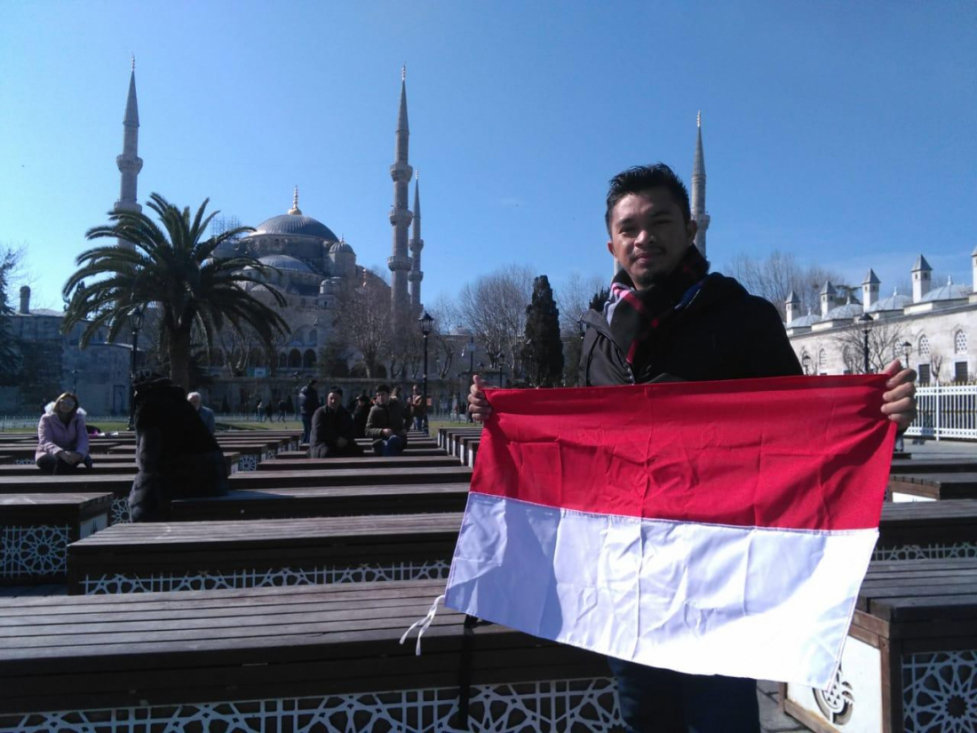 Didi Admanur, Wakil PTKIN di The 4 Istanbul Fellowship Turkey