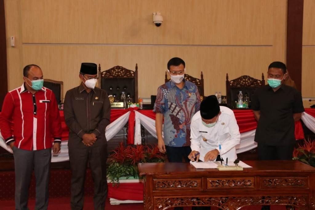 DPRD Setujui Ranperda Tentang Pinjaman Daerah Jadi Perda Kota Medan