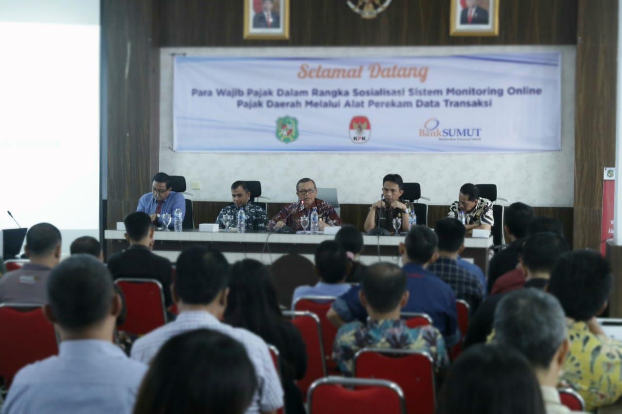 Dukung Optimalisasi PAD, Bank Sumut Bantu Pemko Medan Pasang Tapping Box