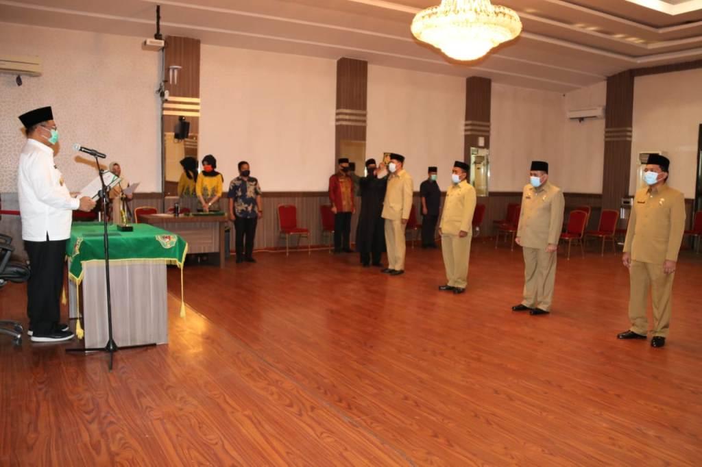 Empat Pejabat Eselon II Pemko Medan Dilantik
