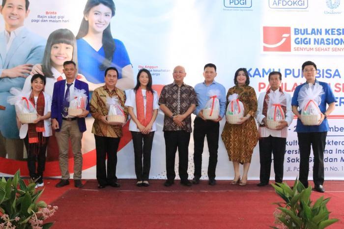 FKG UNPRI- PT Unilever Indonesia Gelar BKGN