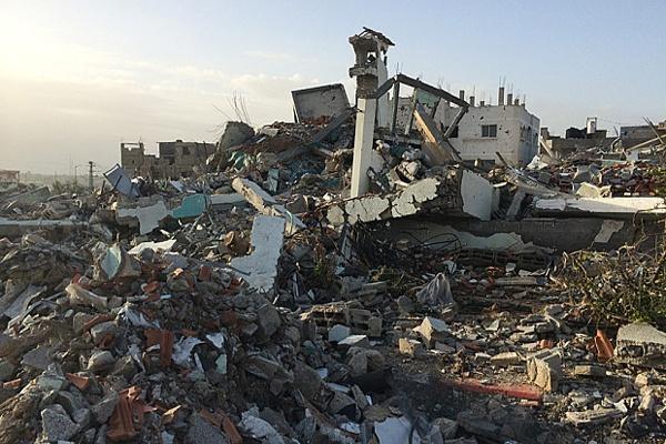 Gaza Mulai Bangun Kembali Rumah yang Hancur Akibat Konflik Mei