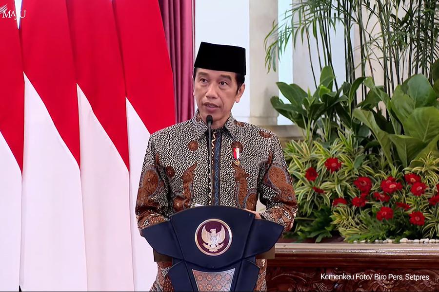 Gerakan Nasional Wakaf Uang Diluncurkan, Jokowi: Potensinya Besar