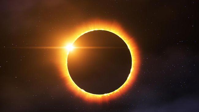 Gerhana Matahari Cincin Terjadi pada 21 Juni 2020