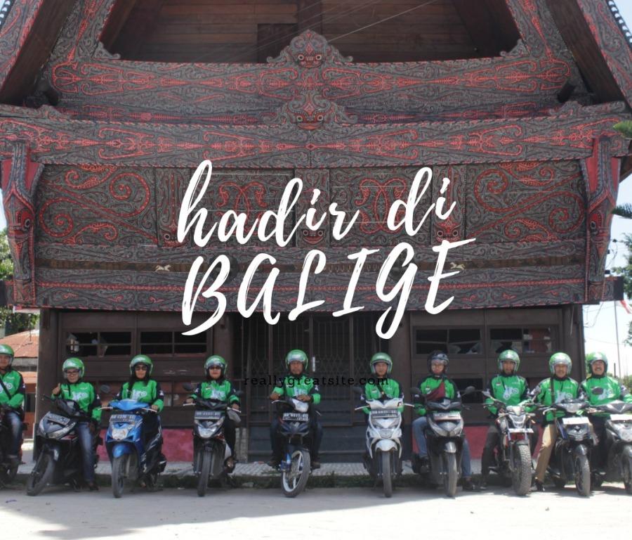 Hadir di Balige, GOJEK Dukung Pariwisata dan UMKM di Toba Samosir