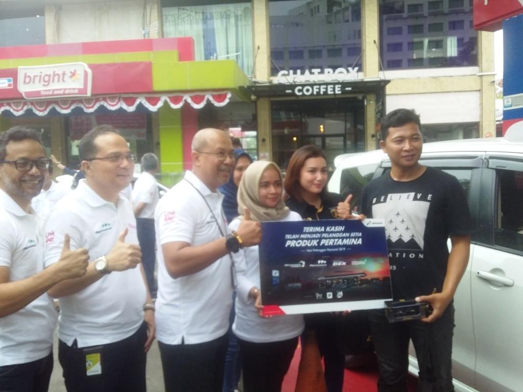 Hari Pelanggan Nasional, PT Pertamina Bagi-Bagi Hadiah