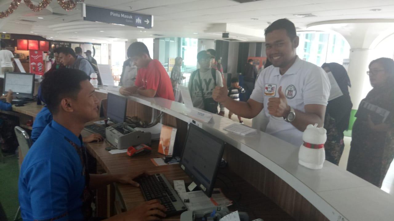 Hari Pertama Angkutan Nataru, Layanan Ticketing Lancar