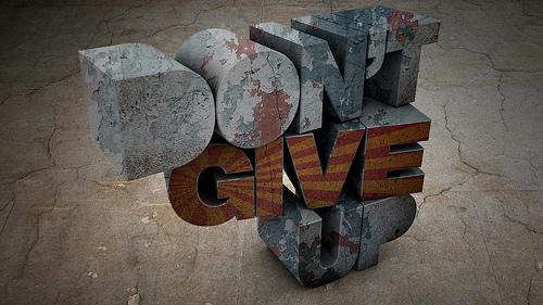 Hikmah Pagi: Jangan Menyerah