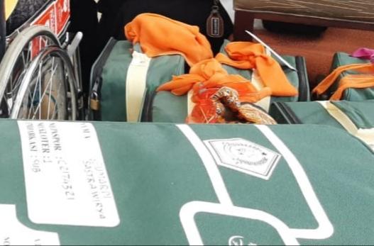 Kedapatan Bawa Zam-zam, 150 Koper Jemaah SUB 01 Dikembalikan
