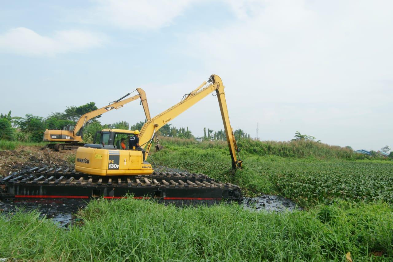 Kembalikan Fungsi Hydrologis dan Jadikan Kawasan Wisata, Danau Martubung Dikorek