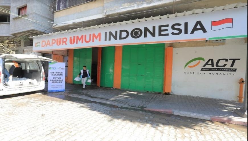 Lengkapi Gizi Anak-Anak Gaza, ACT Kembali Hadirkan Dapur Umum Indonesia
