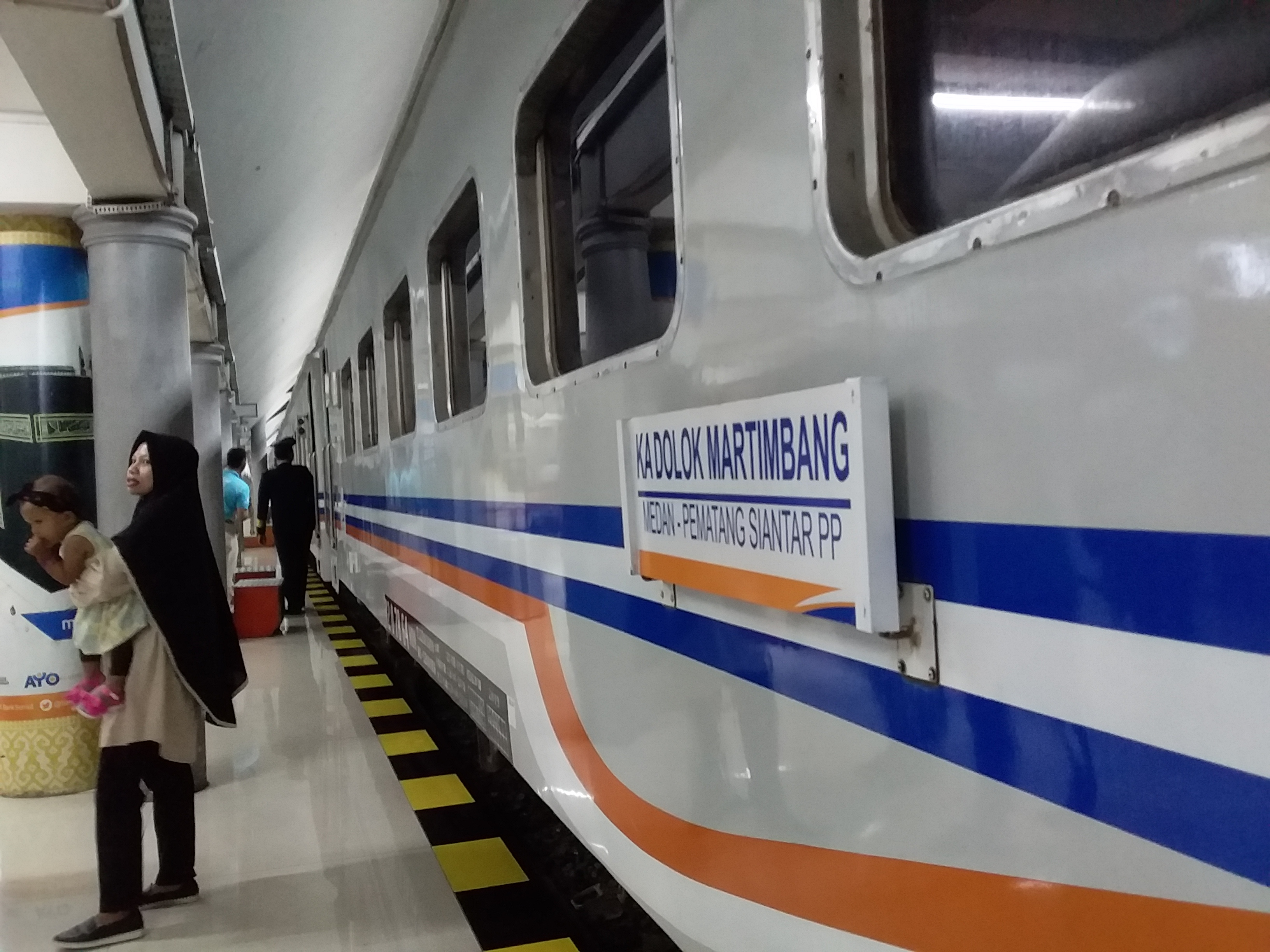 Masa Angkutan Lebaran, PT KAI Divre Sumut Siapkan 408.854Seat