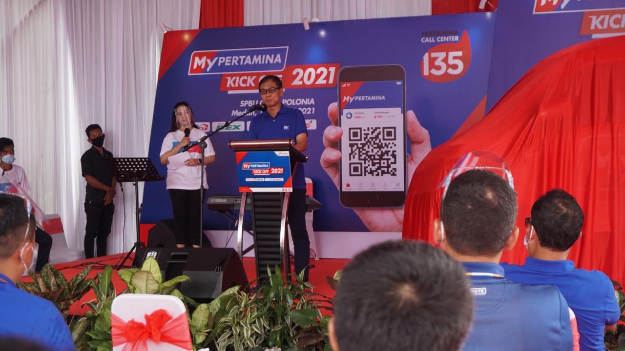 Mobile Booth MyPertamina Hadir di Kota Medan