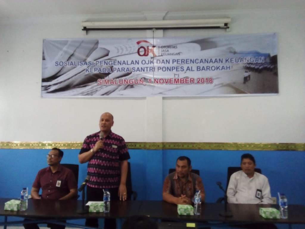 OJK Goes To Pesantren Di Simalungun