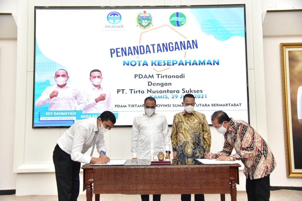 PDAM Tirtanadi Diminta Kejar Target Kebutuhan Air Minum Masyarakat