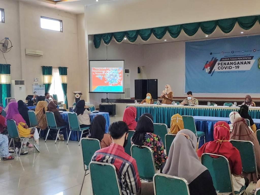 Pemko Medan Terus Gencar Sosialisasikan Perwal No 27/2020