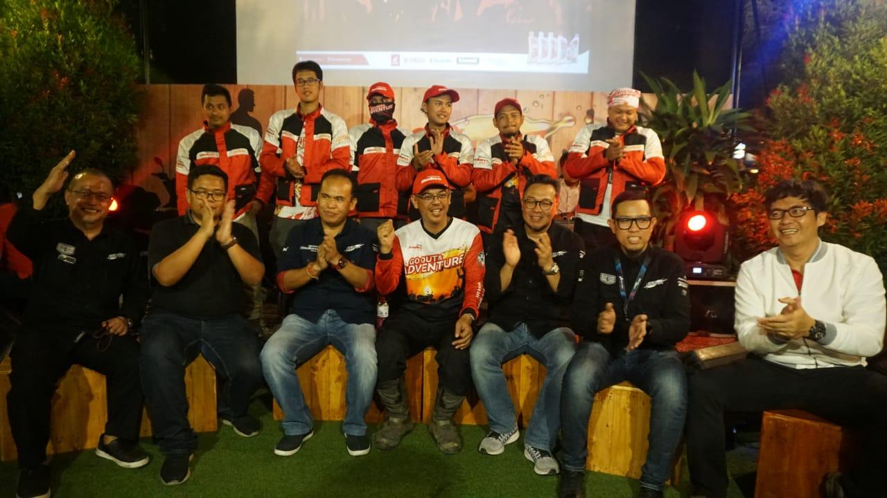 Pertamina Enduro Touring Go Out dan Adventure Sabang-Gresik Tiba Di Medan