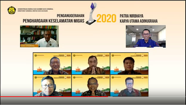 Pertamina Raih Penghargaan Patra Nirbhaya Karya Utama Adinugraha I