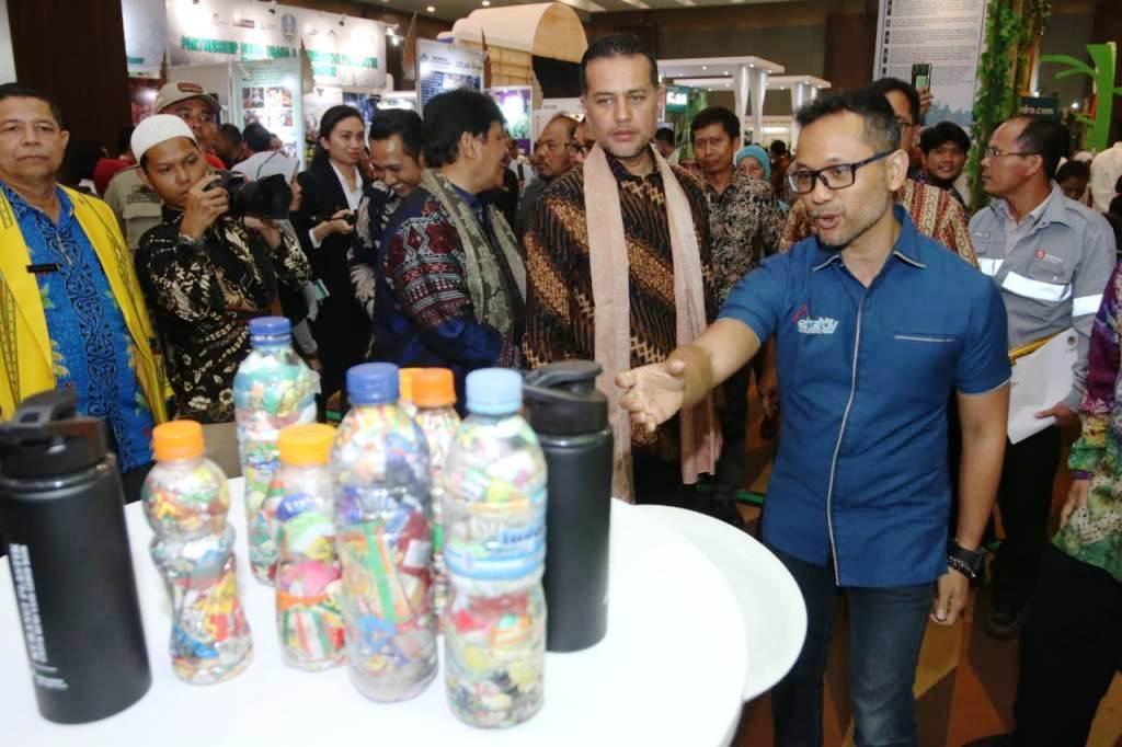 Pertamina Usung Ecobrik Kelola Sampah di Ajang ICCFE 2019