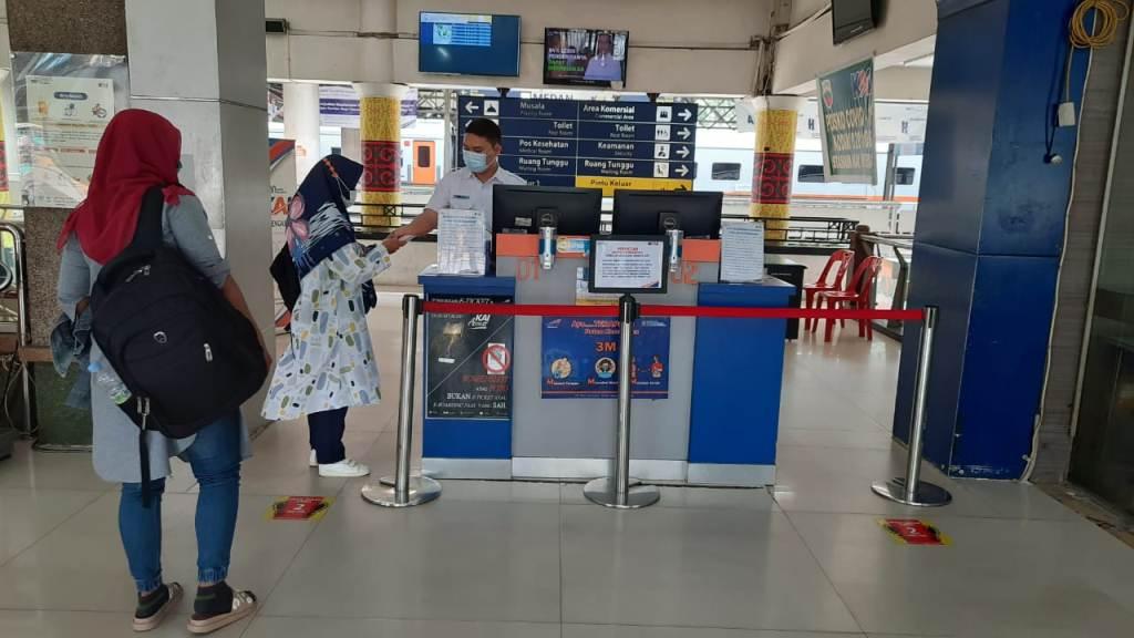 PT KAI Tata FLOW Pelanggan Dan Loket Tiket KA Sri Lelawangsa