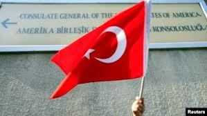 Ribuan Orang Turki Protes Tindakan Kekerasan Israel terhadap Palestina