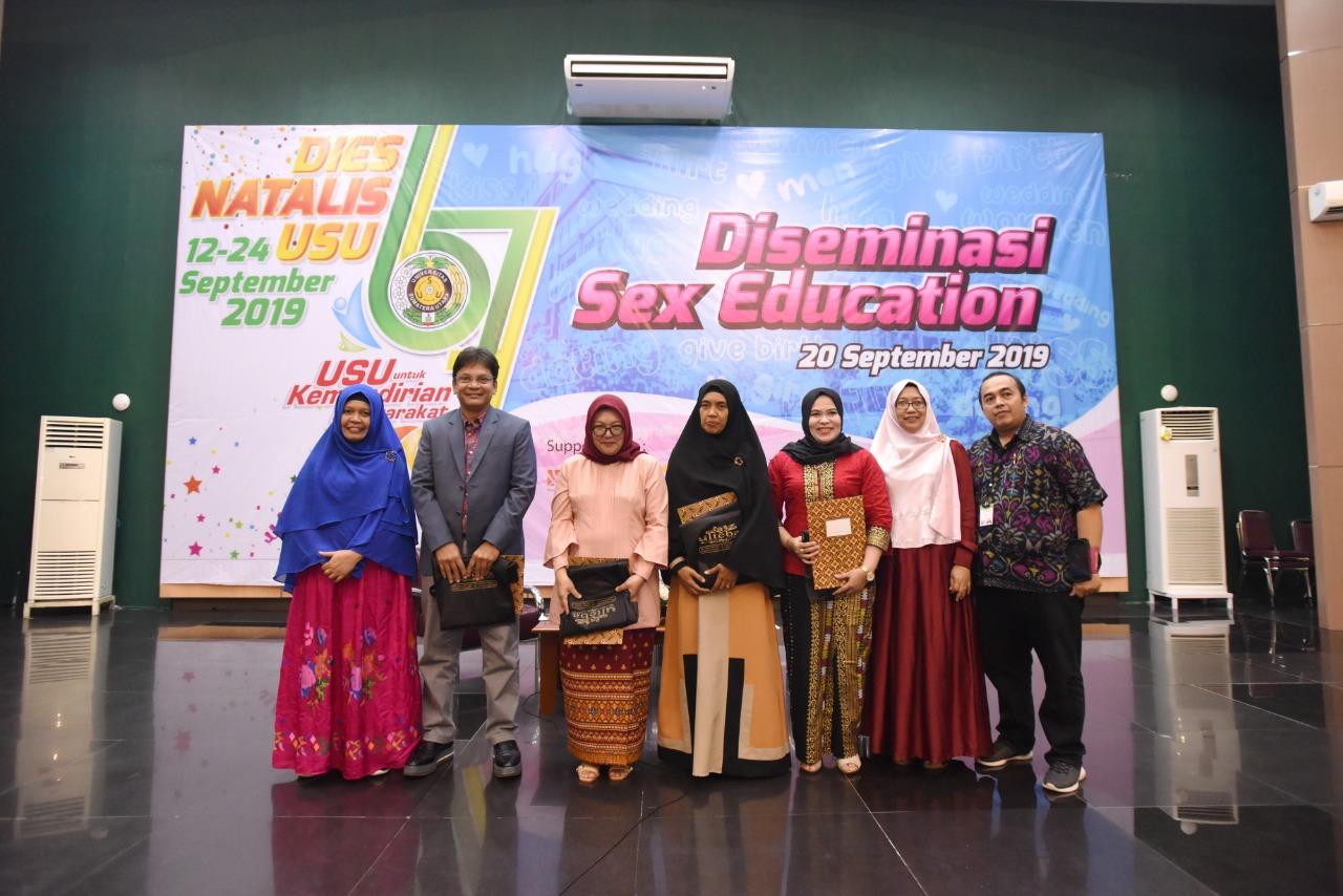Ribuan Pelajar dan Mahasiswa Ikuti Diseminasi Sex Education USU