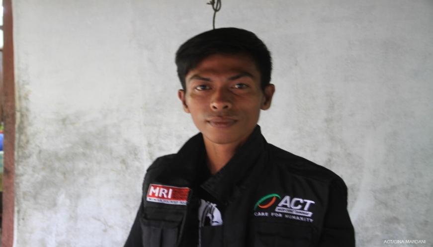 Selamat dari Tsunami Donggala, Abdul Latif Pilih Jadi Relawan