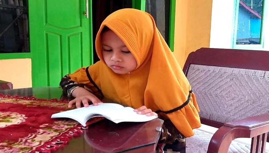 Sering Dengar Ceramah, Bocah Kelas Empat SD Ini Hafal Sejarah Islam