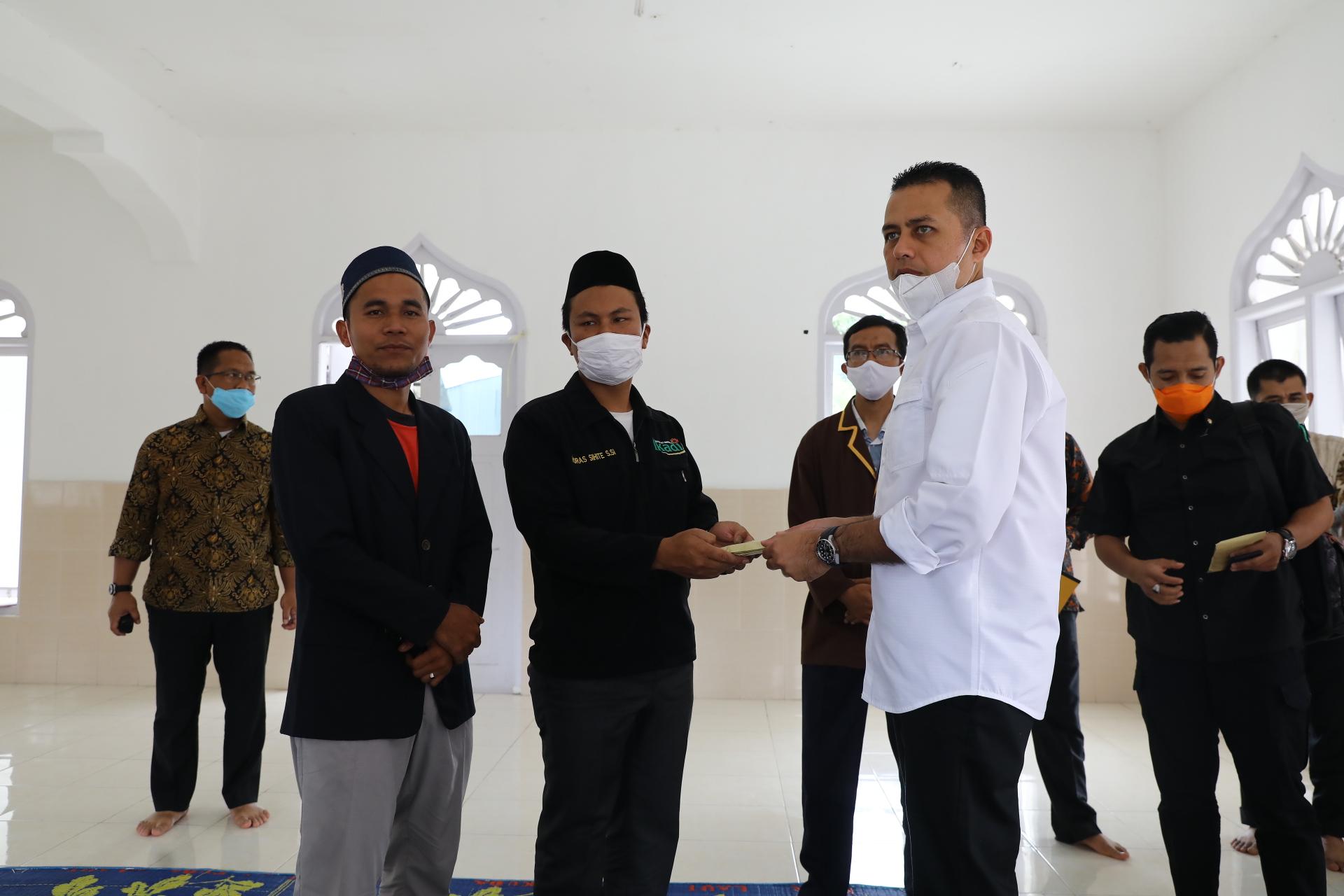 Silaturahmi ke Panti Asuhan Mohd Yasin Tambunan, Wagubsu Motivasi Anak Yatim Piatu